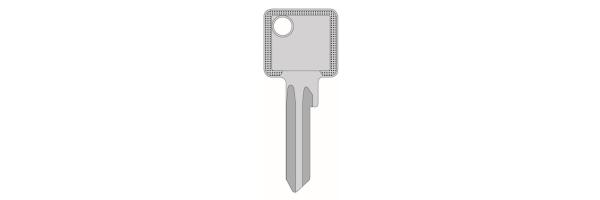 Eingeschnittene Schlüssel