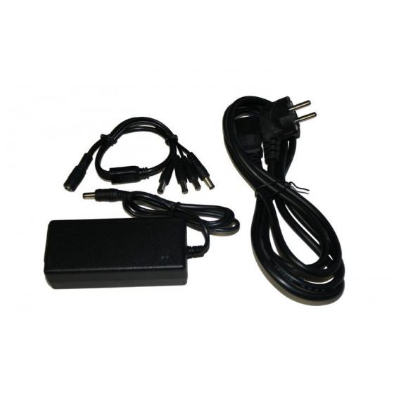 B&S TECHNOLOGY 2 Ampere Netzteil für den Anschluss von bis zu 4 Kameras