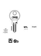 ERREBI RN6R Schlüsselrohling für RENZ