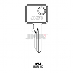 JMA BUR-4D Schlüsselrohling für Burg65R