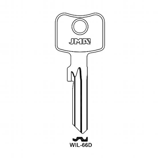 JMA WIL-66D Schlüsselrohling  für WILKA
