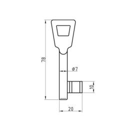 Buntbartschlüssel System Schulte Schlagbaum