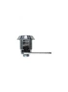 BASI HS 310 VS für universelle Verwendung mit Mutter 2 Schlüssel hellverchromt