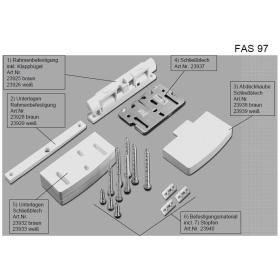ABUS FAS97 Ersatzteile Schanierseitensicherung