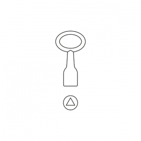 BASI 301D Dornschlüssel Innen-Dreikant