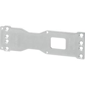 ASSA ABOLY Montageplatte DCA120.......40 silber