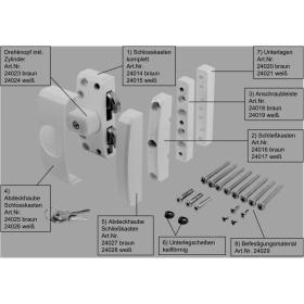 ABUS FTS96 Ersatzteile