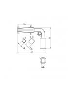BASI Vierkantschlüssel für Neubauten