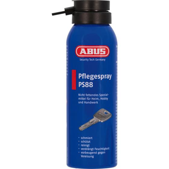 ABUS PS88 125 - Spray Gleitmittel Fett frei und Feuchtigkeit abweisend 125 ml