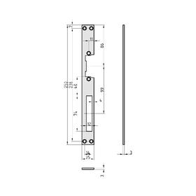 BASI FLB 950 Flachschließblech