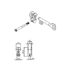Sächsische Schlossfabrik Buntbarteinsätze bis 60mm