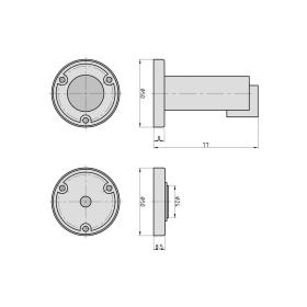 BASI MTS 24 Magnet-Türfeststeller