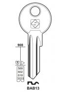 Silca BAB13 Schlüsselrohling für BAB