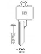 Silca BK15 Schlüsselrohling für BKS
