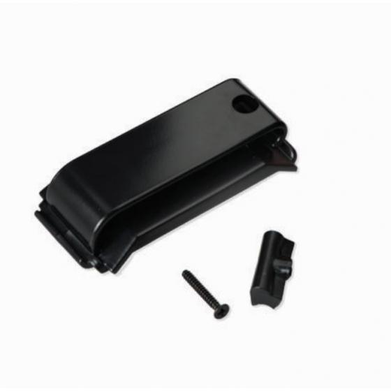 Bosch Gürtelclip für die RADION Überfall- und Funk-Handsender. Inklusive Befestigungsclip, 2 Schrauben und Sicherungsmutter.