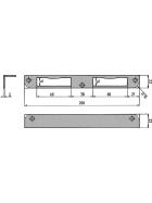 KFV Winkelschließblech 6-N mit Feilnase