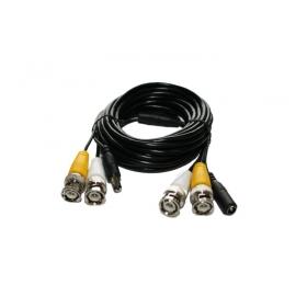 Kamera-Kombiverlängerungskabel mit Netzleitung, 5 Meter
