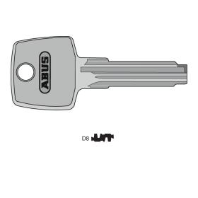 ABUS Schlüsselrohling für D8