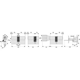 ABUS A93 Doppelzylinder