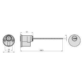 BASI V55 Außenzylinder