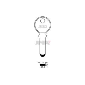 JMA KE-3 Bohrmulden-Schlüsselrohling Keso
