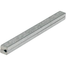 HOPPE Profilstift Vierkant Eisen verzinkt geteilt