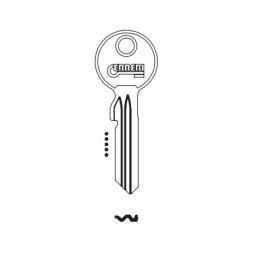 ERREBI EV19 Schlüsselrohling für EVVA