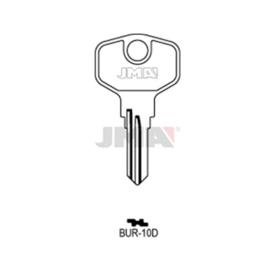 JMA BUR-10D Schlüsselrohling für Burg