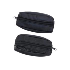 Schlüsseltasche aus schwarzem Leder