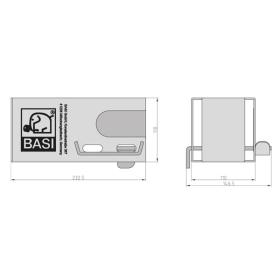 BASI KFZ 114 - Anhängersicherung