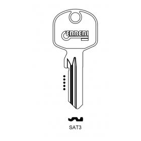 ERREBI SAT3 Schlüsselrohling für SATURN