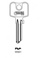 ERREBI WI5D1 Schlüsselrohling für WILKA