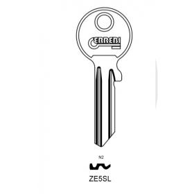 ERREBI ZE5SL Schlüsselrohling für ZEISS-IKON