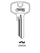 ERREBI DM5DN Schlüsselrohling für DOM