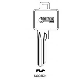 ERREBI KSC5DN Schlüsselrohling für BKS