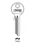 ERREBI TK5DL Schlüsselrohling für TOK-WINKHAUS