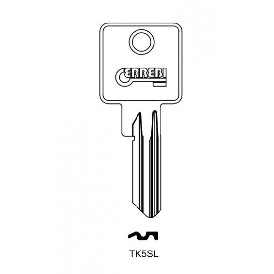ERREBI TK5SL Schlüsselrohling für TOK-WINKHAUS