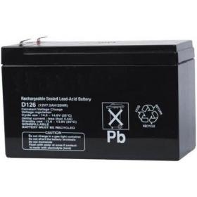 Bosch D126 Batterie 12V, 7 Ah