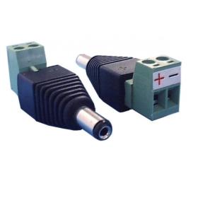 B&S TECHNOLOGY Hohlstecker-Adapter mit Schraubklemme