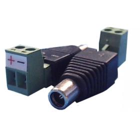 B&S TECHNOLOGY DC-Hohlbuchsen-Adapter mit Schraubklemme