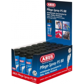 ABUS PS88 Spray 50ml Verkaufsdisplay bestückt mit 24...