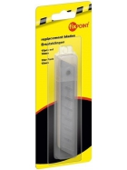 Wentronic FixPOINT Ersatzklingen für Mehrzweckmesser - 10er Pack - 18 mm