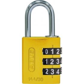 ABUS myCode 144/30 Zahlenschloss gelb
