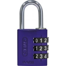 ABUS myCode 144/30 Zahlenschloss lila