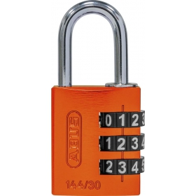 ABUS myCode 144/30 Zahlenschloss orange