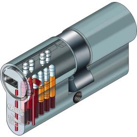 ABUS EC660 Profil-Halbzylinder mit Sicherungskarte