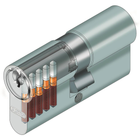 ABUS C73 Profil-Doppelzylinder 30/80 11111