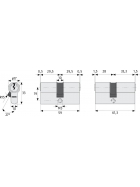 ABUS C73 Profil-Doppelzylinder 35/35 11111
