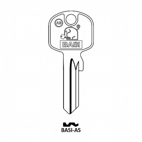 BASI AS Zylinder-Schlüsselrohling für BASI AS