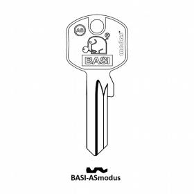 BASI AS Modus Zylinder-Schlüsselrohling für...